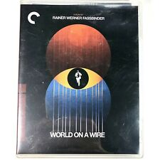 World on a Wire Criterion Collection Blu-ray 1973 German Sci-Fi Movie Rare