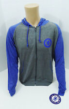 Chelsea FC Thin Light Soccer Jacket Hoodie Youth Medium Football New YM