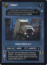 STAR WARS CCG Endor - TEMPEST 1 - RARE Dark Side