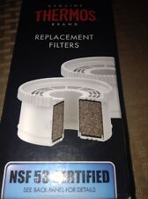 NEW Genuine Thermos Brand Replacement Filters NSF 53 Certified - 2 Filters