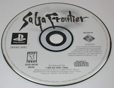 Playstation 1 PS1 Saga Frontier Working Disk Only R12835