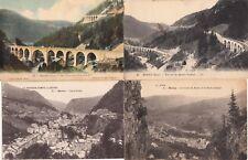 Lot 4 cartes postales anciennes JURA MOREZ 2