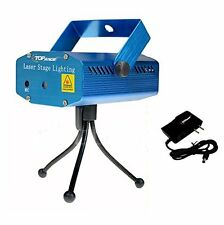 NEW LED Mini Stage Light Laser Projector Club Dj Disco Bar Voice activated