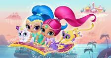 PERSONALISED LAMINATED A4  SHIMMER AND SHINE  NOVELTY  PLACE MAT TABLE MAT