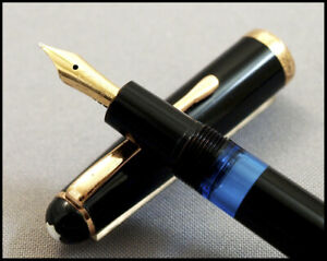 BEAUTIFUL AND RARE VINTAGE MONTBLANC 342 PISTON FILLER FROM 1950s - 14 C M NIB