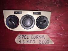 pulsantiera aria cond. opel corsa 1.3 mtj 2008 (3 porte)