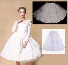 Nylon Short Bridal Slips, Petticoats & Hoops