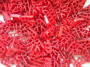 K'nex building toy 550 pieces red connectors knex parts replacements extras
