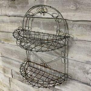 Vintage Wire Work Planter