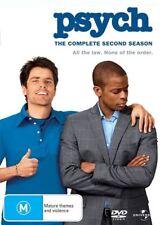 Psych : Season 2 (DVD, 4-Disc Set) NEW