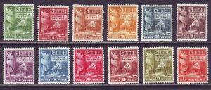 Samoa 1921 SC 142-153 MH Set