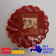 Yankee Candle - Single Wax Fragrance Melt Tart - Candy Cane Meringue Peppermint