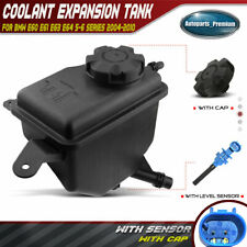 Coolant Reservoir Expansion Tank w/ Cap & Sensor for BMW E60 525i 528i 535 645Ci