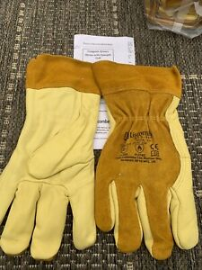 2 x pairs of Liscombe Cowgrain Riggers/drivers Workgloves Size 10