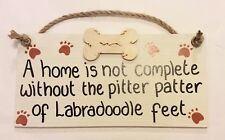 A home is not complete without the pitter patter of labradoodle feet