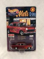 Hot Wheels Collectibles Mels Diner 1955 Chevy Special Edition Hot Rod Magazine