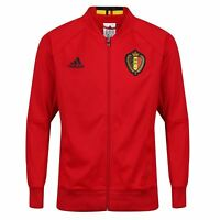 adidas BELGIUM MEN'S ANTHEM JACKET KBVB FOOTBALL EURO'S 2016 XS - XXL RRP £65