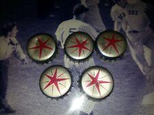 New listing 5 Vintage Beer Bottle Cap Crowns Cork Lined