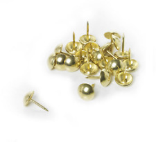 20 x Upholstery Nails Brassed Nails Studs / Pins For Upholstering By Solstuds