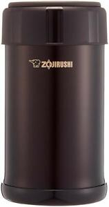 Official  Zojirushi stainless Cook & Food Jar 750ml dark cocoa SW-JA75-TD