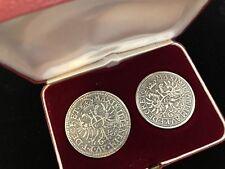 2 x Silbermünze Münze Ludwig VI. Guldentaler Nachprägung Sparkasse Silver German