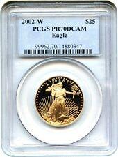 2002-W Gold Eagle $25 PCGS PR 70 DCAM - American Gold Eagle AGE