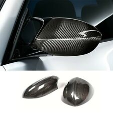 Real Carbon Fiber Car Rear Mirror Cap Cover Replace For BMW E90 E92 M3 2007-2013