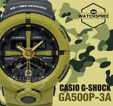 Casio G-Shock Urban Sports Theme Standard Analog-Digital Watch GA500P-3A