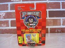 1998 NASCAR 50TH ANNIVERSARY ERNIE IRVAN 1:144 SCALE DIECAST REPLICA CAR (NEW)