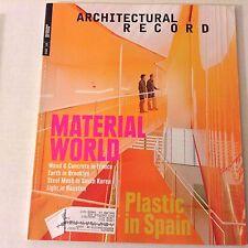 Architectural Record Magazine Weiss/Manfredi Turrell July 2012 070217nonrh