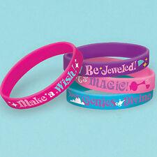 Nickelodeon shimmer e lucentezza partito bracciali in GOMMA Party Bag Favori x 6