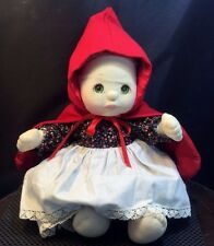 MY CHILD DOLL with clothing and red hood/Blonde/Green eyes - Mattel - Rare? kp