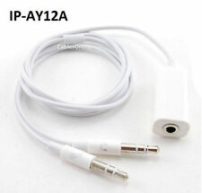 2.5ft 3.5mm Stereo Jack to Dual 3.5mm Male Headset & Mic Plug iPhone to PC Cable