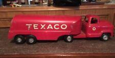 1950'S BUDDY L PRESSED STEEL TEXACO TANKER TRUCK TOY TRUCK VINTAGE