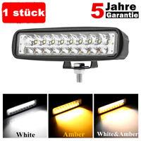 1 stück 180W 6 Zoll LED Zusatzscheinwerfer Fernlicht Lkw 12V work light bar DE
