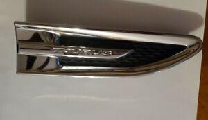 2010-2019 Ford Taurus Right Passenger Side Emblem Fender Trim Chrome Front OEM