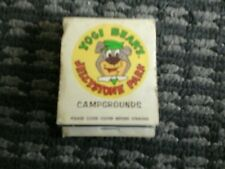 Late 60s early 70s yogi bear campgrounds  matches