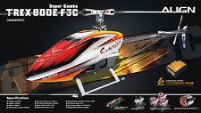 ALIGN Helicopter RH80E09XW T-REX 800E F3C Super Combo New