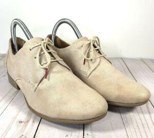 Tamaris Women's Oxford Lace Up Light Leather Shoes Sz EU 39 ~ US 7.5 ~ UK 5.5