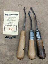 Dem-Bart riflewood checkering tool lot, veteran estate