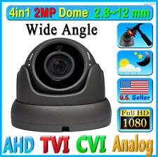 HD 2MP 1080P 4in1 Security Camera Wide 2.8-12mm Lens Zoom CCTV Dome TVI AHD ETC