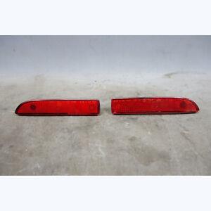 99-02 BMW Z3 Rear Bumper Custom Heavy Duty Side Marker Red Reflector Pair