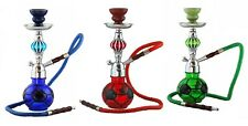 3 X Footbal Hookah Pipe Deal, Hookah Flavour X 3, Charcoal X 3, Mouth Tips X 12