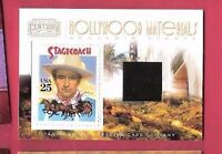 "JOHN WAYNE "" THE DUKE "" WORN RELIC SWATCH & STAMP MEMORABILIA CARD AMERICANA #d"