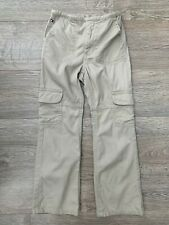 TOMMY HILFIGER GIRLS BEIGE COMBAT TROUSERS AGE 5 USED