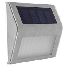 3LED Solar Powered Waterproof Outdoor Garden Corridor Stair Light Wall Lamp E0Xc