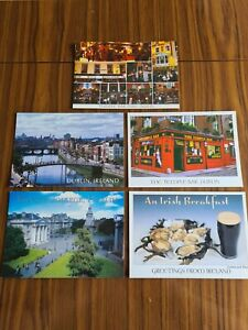 Selection of 5 Postcards of Dublin (Ireland) (set 3)