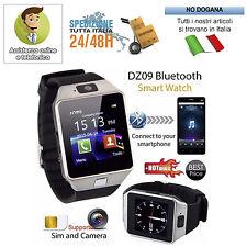 SMARTWATCH OROLOGIO TELEFONO CELLULARE DZ09 BLUETOOTH SIM CARD MICRO SD PHONE IT
