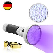100 LEDs UV Taschenlampe mit Schutzbrille 395nm KFZ Klimaanlage Lecksuch Lampe