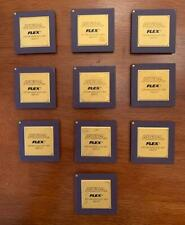 New listing Lot of 10 Altera Flex Computer Chips Cpu, Gold Recovery, Display, Scrap